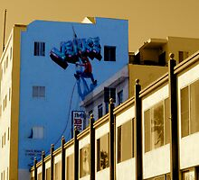 Venice Climber! by Carl Goulding