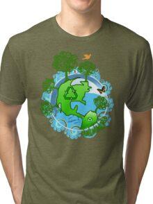 A Global Recycle Tri-blend T-Shirt