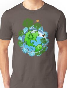 A Global Recycle Unisex T-Shirt