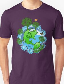 A Global Recycle T-Shirt
