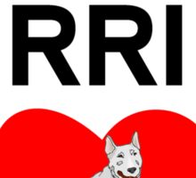 Bull Terrier Dad Sticker