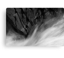 Aquaphobia: Bruar - Of Granite And Roar Canvas Print