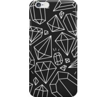 Gems Black and White iPhone Case/Skin