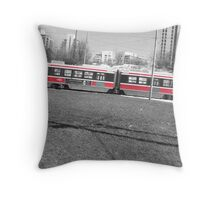 Toronto Street Car 4202 Throw Pillow