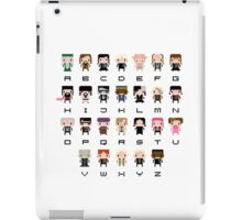 Harry Potter Alphabet iPad Case/Skin