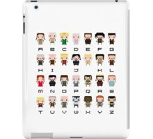 Game of Thrones Alphabet iPad Case/Skin