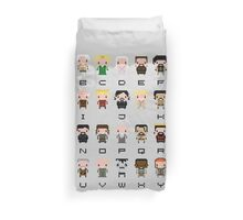 Game of Thrones Alphabet Duvet Cover