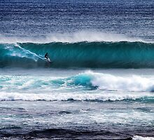 Goofy at Margaret River by Peter Evans