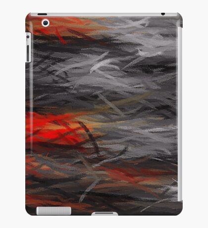 Painting Abstract Background #4 iPad Case/Skin