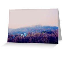 Peaceful Hillside Greeting Card