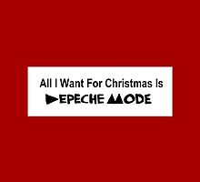 All I Want For Christmas - Depeche Mode by hellodear