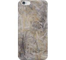 Painting Abstract Background #5 iPhone Case/Skin