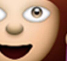 Double Hair Toss Emoji Sticker