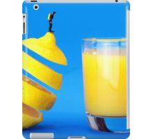 Underwater Diving On A Floating Orange iPad Case/Skin