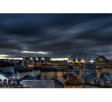 Over the Chimney Pots Photographic Print
