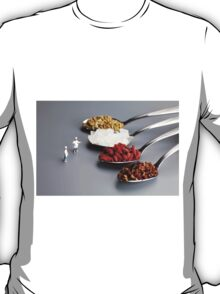 Chef Discussing Cooking Recipes T-Shirt