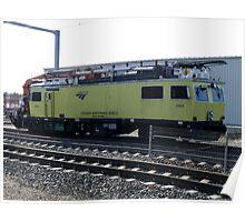 Amtrak Catenary Maintenance  Vehicle Poster