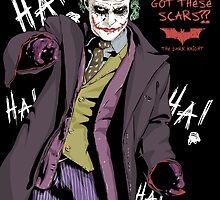 The Joker by averagejoeart