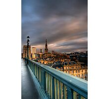 Along the Bridge Photographic Print
