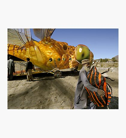 Dragonlarvae Beetlefly lands the precious payload ahead of schedule Photographic Print