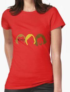 Yum Yum retro 80s three  Womens Fitted T-Shirt