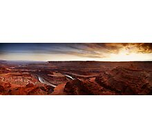 Dead Horse Point Panorama Photographic Print