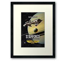 Starforce Framed Print