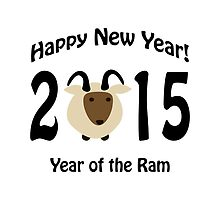 Happy New Year! Year of the Ram 2015 by Eggtooth