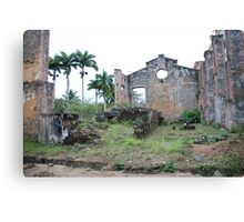 The old Brewery Canvas Print