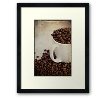 ~ Coffee Beans ~  Framed Print