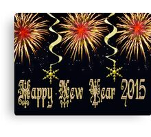 HAPPY NEW YEAR VERSION ONE PICTURE AND OR CARD Canvas Print