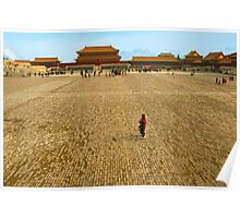 Taihe Square, Forbidden City, China. Poster