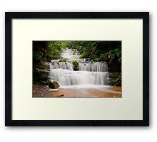 Terrace Falls, Hazelbrook NSW Framed Print