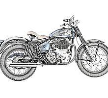 1967 Royal Enfield Interceptor 750 Motorcycle by surgedesigns
