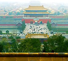 Forbbiden City, Beijing, China. by bulljup
