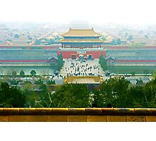 Forbbiden City, Beijing, China. Photographic Print