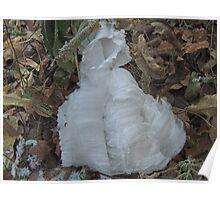 Ice Ribbon - Cloak Poster