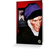My friend Vincent Greeting Card