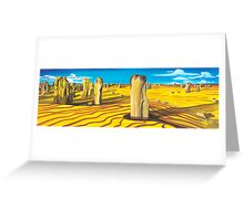 Pinnacles - W.A. Greeting Card