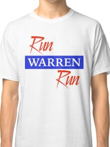 Run Warren Run Classic T-Shirt
