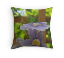 hanging garden of native sons Throw Pillow