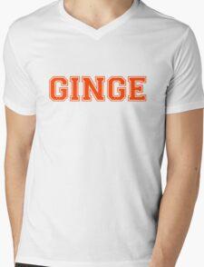 GINGE Mens V-Neck T-Shirt