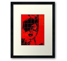 catwoman Framed Print