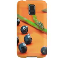 Blueberry Protesting Samsung Galaxy Case/Skin