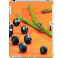 Blueberry Protesting iPad Case/Skin