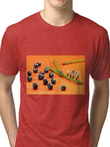 Blueberry Protesting Tri-blend T-Shirt
