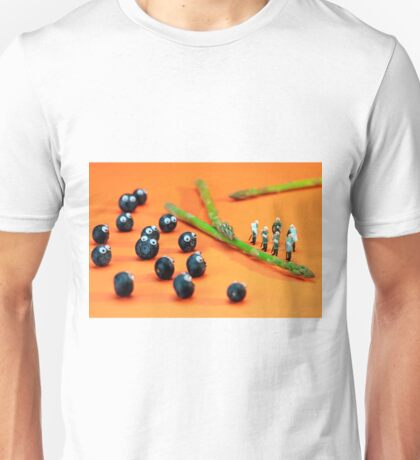 Blueberry Protesting Unisex T-Shirt