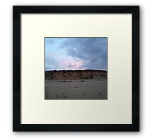Dune Line in Cape Cod Framed Print