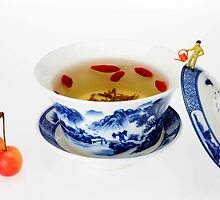 Making Longjing Tea traditional chinese culture  by Paul Ge