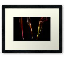 Triad Framed Print